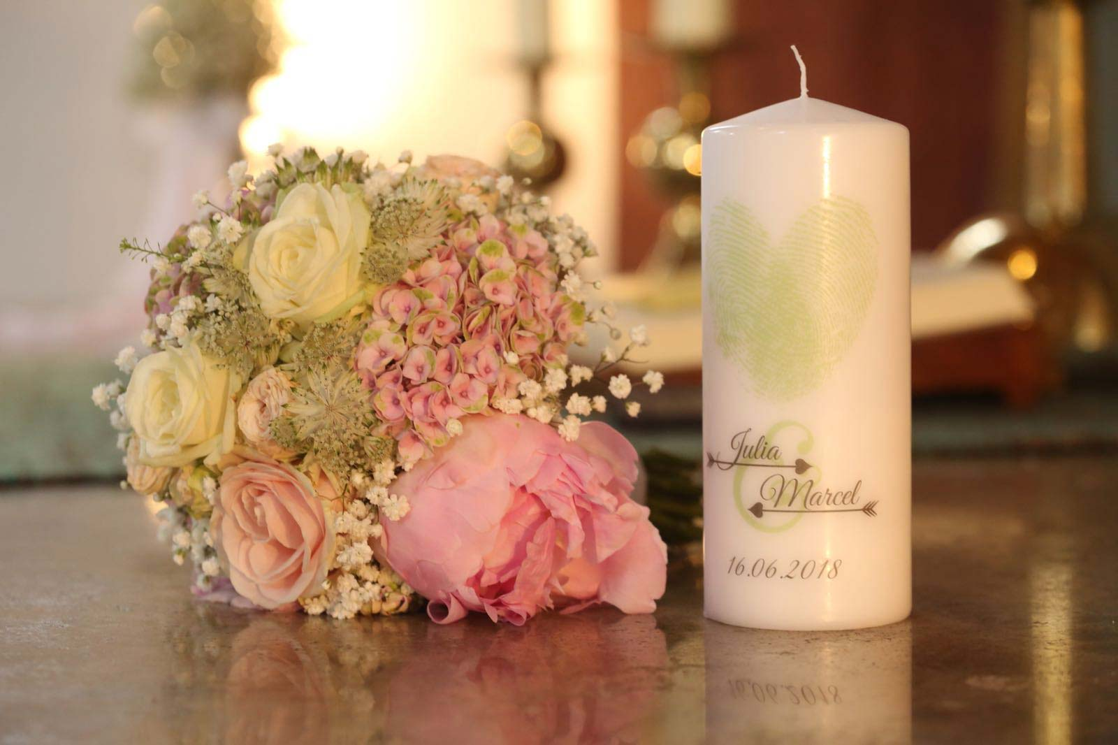 Hochzeitsfloristik von Blooms and Rooms